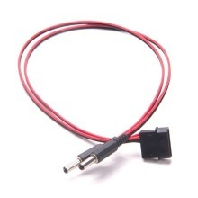 Molex 4-Pin to 2 Gridseed Power Plug (2.5mm DC Barrel Plug)