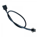 Lian Li LED ARGB 3 Pin Female to 5v RGB 3 Pin Female Adapter Cable