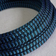 Deluxe PET PP Cotton Braided Sleeving (Blue 4mm)
