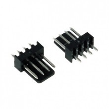 4-Pin Male Fan Connector - Black