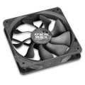 Akasa 120mm x 25mm Apache Black Super Silent PWM Fan (Hydro Dynamic Bearings - Black)