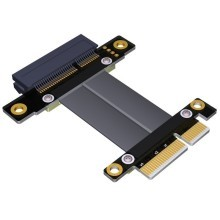 PCIE 3.0 Gen3 x4 Male to Female Extension Cable Riser Card R22SF