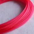 Deluxe High Density Weave UV Pink Cable Sleeve (4mm)
