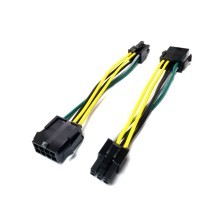 Dell Proprietary PSU 8 Pin to 6 Pin Adapter Cable for 3040 3050 3060