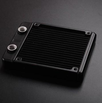Syscooling AS120 Single 120mm Black Radiator (Pure Aluminum)