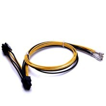 DELL1950 2950 PE1950 2950 2x 6 Pin PCI-E Power Cable (50cm+20cm)