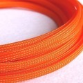 Deluxe High Density Weave Orange Cable Sleeve