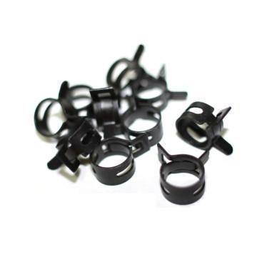 Hose Clamp Spring 10 - 14mm (Black)