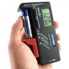 Universal Digital LCD 3.5 Inch Battery Tester