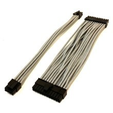 Silverstone SX600-G Single Sleeved Modular Cable Set (Silver)
