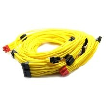 Professional Tailor Made Coolmax Custom Sleeved Modular Cable Kit