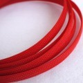 Deluxe High Density Weave Red Cable Sleeve (10mm)
