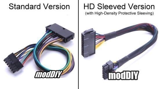 Standard vs. High Density (HD) Sleeved