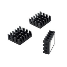 Aavid Thermalloy Premium Black Heat Sink (26mm x 23mm x 10mm)