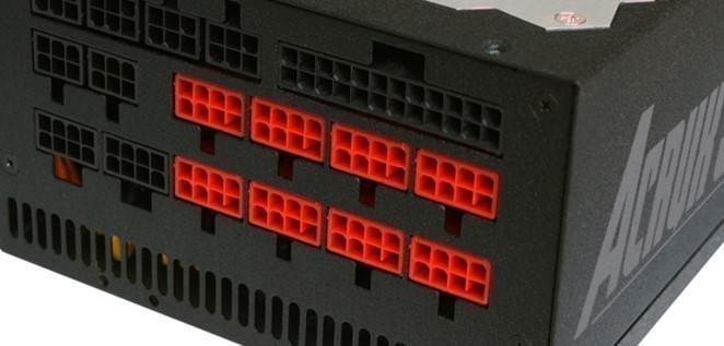 Zalman Modular PSU 8-Pin PCIE GPU VGA Modular Connector (Red)