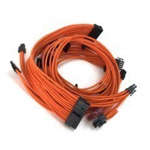Enermax Modu82+ Premium Single Sleeved Modular Cable Set (Orange)