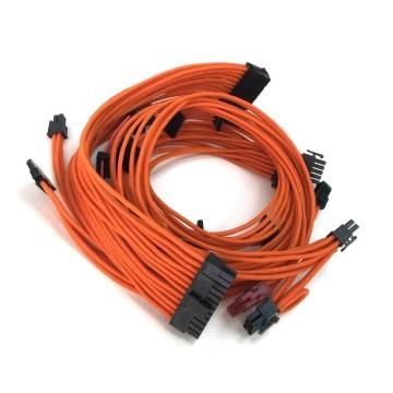 Enermax Modu82+ Premium Single Sleeved Modular Cable Set (Orange)