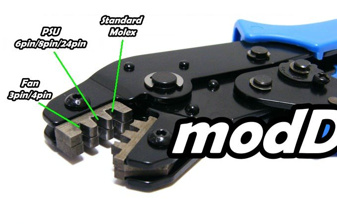 Professional Molex Crimping Tool - modDIY.com