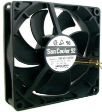 Sanyo San Cooler 92 9025 90mm 3-Pin Fan (9A0912H4D08)