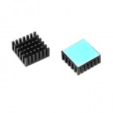 3M-8810 Aavid Thermalloy Premium Black Heat Sink (23mm x 23mm x 10mm)