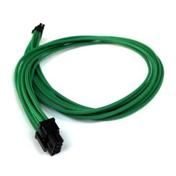 Seasonic Prime Titanium Single Sleeved PCIE Modular Cable (Dark Green)