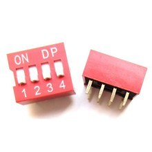 2.54mm Dupont 8-Pin (4*2) Switch