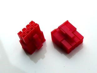 modDIY 8 Pin Female 12V EPS Power Molex Connector (Red)