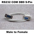 RS232 COM DB9 9-Pin Male to Female Cable (140cm)
