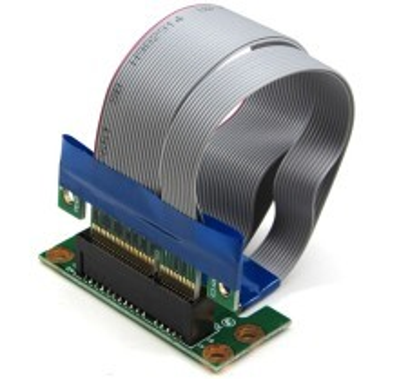 Premium PCI-Express PCI-E 90 Degree Angled Extension Cable Riser (4x)