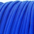 Deluxe High Density Weave Blue Cable Sleeve (2mm)
