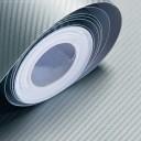 Silver Carbon Fibre Sticker 3D Matt Dry Vinyl with Texture
