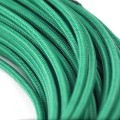modDIY Pre-made 18AWG Sleeved Electrical Wire (Green)