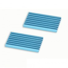 Server Grade Ultra-Thin Blue Heatsink (32mm x 22mm x 3mm)
