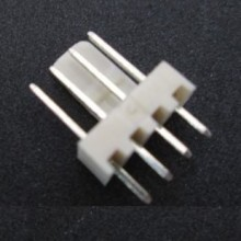 4-Pin (3+1) Male Fan Connector - White