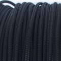 Deluxe High Density Weave Black Cable Sleeve (2mm)