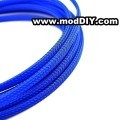Deluxe High Density Weave Blue Cable Sleeve (25mm)