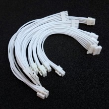 Corsair SF600 Premium Single Sleeved Modular Cable Set (All White)
