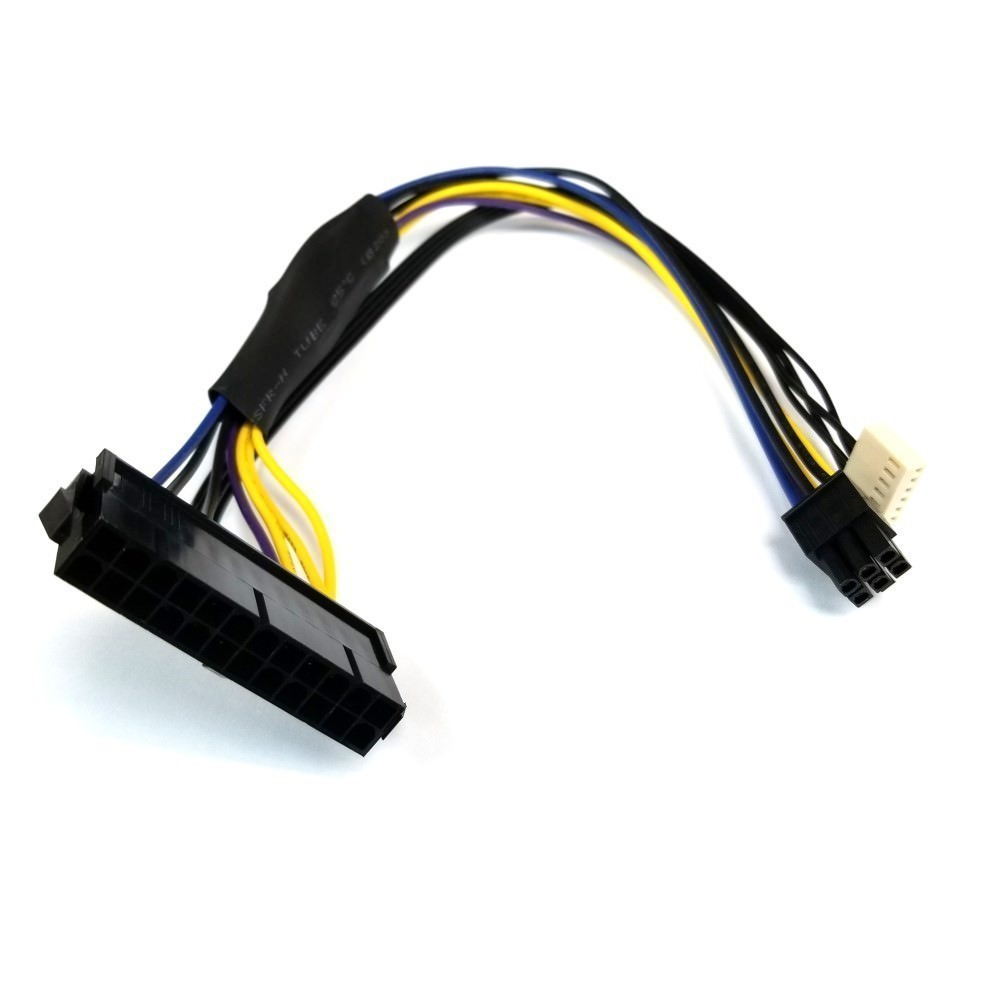 HP Z240 PSU Main Power 24 Pin to 6 Pin Adapter Cable 30cm