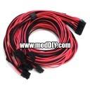 Corsair AX Professional Series Individually Sleeved Modular Cable Set (Black/Pink)
