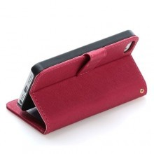 Refined Textured Leather Case for iPhone 5 (6 Colors)