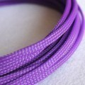 Deluxe High Density Weave Purple Cable Sleeve (4mm)