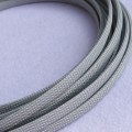 Deluxe High Density Weave Grey Silver Cable Sleeve (30mm)