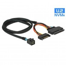 U.2 Intel 750 PCIE NVME SFF-8643 to SFF-8639 SATA Data Cable Adapter