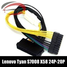 IBM Lenovo Tyan S7008 X58 Main Power 24-Pin to 20-Pin Adapter Cable (30cm)