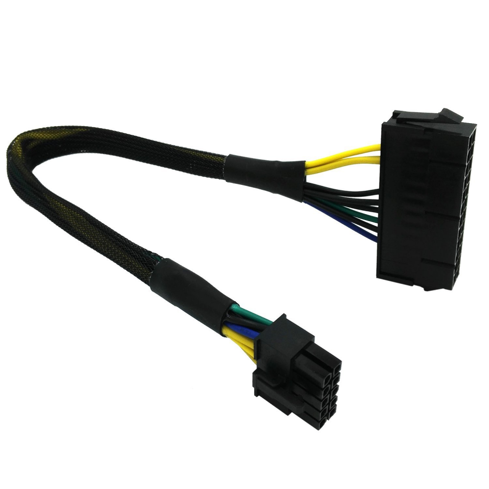 IBM Lenovo PSU Main Power 24 Pin to 10 Pin Adapter Cable 30cm
