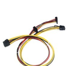 HP DL380G6 10-Pin to SSD / SATA / Molex / PCI-E Power Cable (60cm)