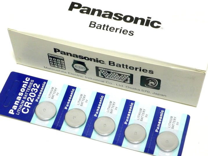 Panasonic 3v Lithium Cmos Coin Type Battery Cr2032