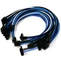 Seasonic PRIME Premium Single Sleeved Modular Cable Set (Black/White/Blue)