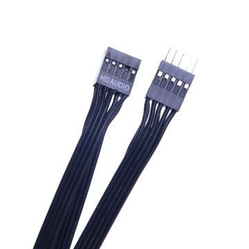 HD Audio 2.0 10-Pin (5*2) Internal Extension Ribbon Cable