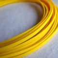 Deluxe High Density Weave Yellow Cable Sleeve (5mm)
